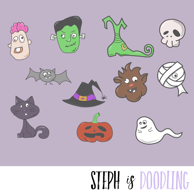 Halloween Freebie Icons