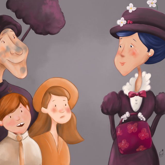 Mary Poppins Colour Collective