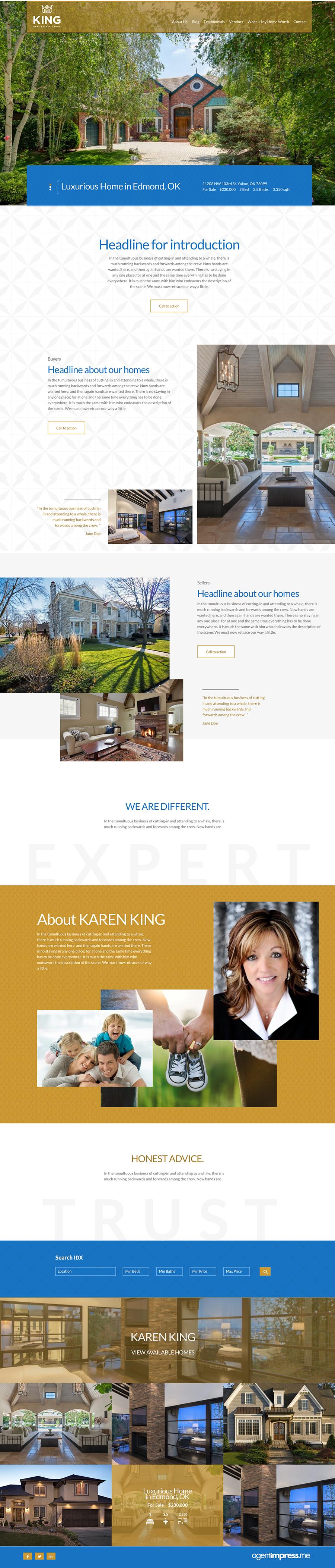 Karen King Homepage